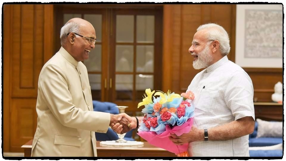 RAM NATH KOVIND ELECTED THE 14TH PRESIDENT OF INDIA