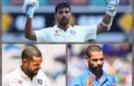 SHIKHAR DHAWAN SET TO REPLACE MURALI VIJAY FOR UPCOMING SRI LANKA TOUR