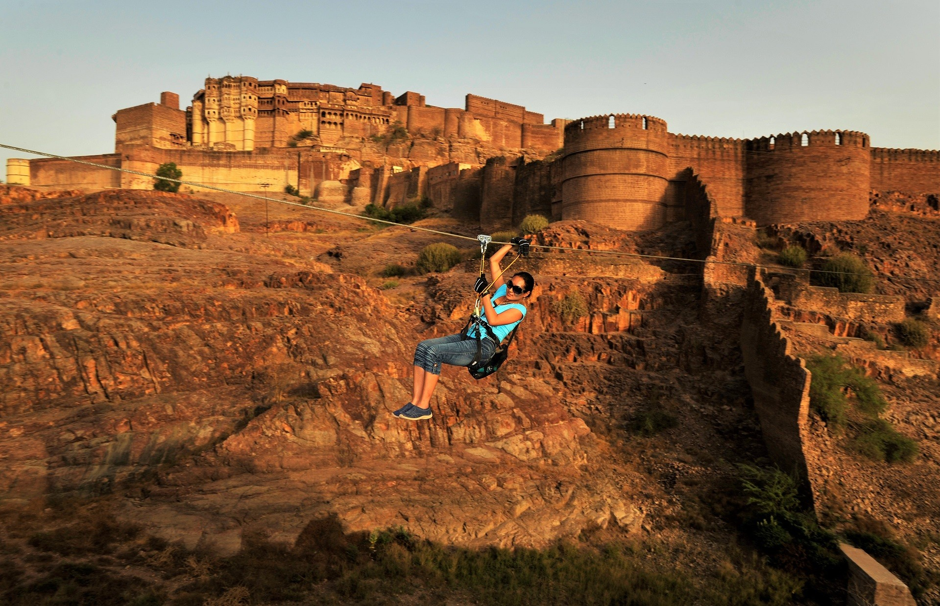 Awesome Photo Of Travelers In India