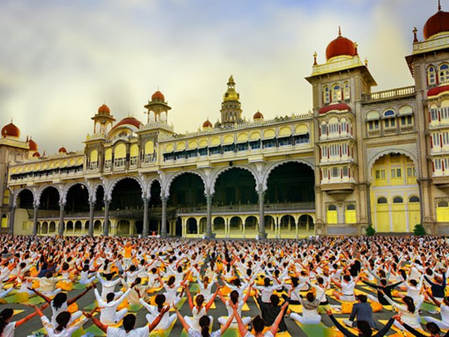 CELEBRATE YOGA AT THE 'INTERNATIONAL FESTIVAL OF YOGIC HERITAGE' IN MYSORE