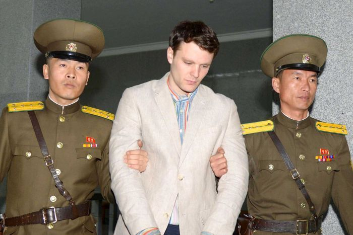 AMERICAN STUDENT OTTO WARMBIER DIES A WEEK AFTER BEING RETURNED BY NORTH KOREA