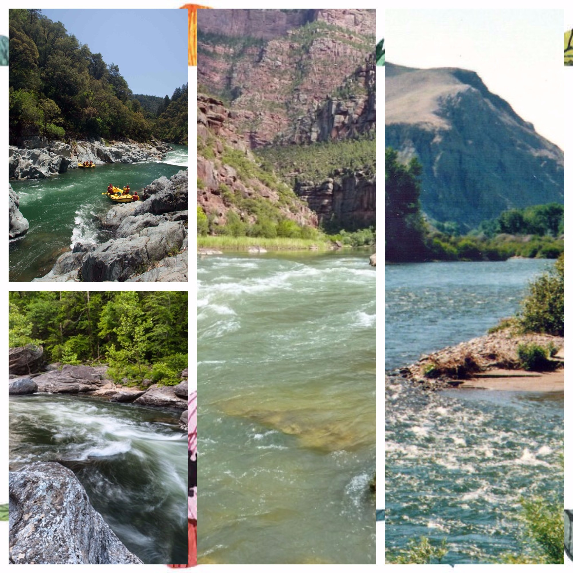 WHITE WATER RAFTING DESTINATIONS IN THE US