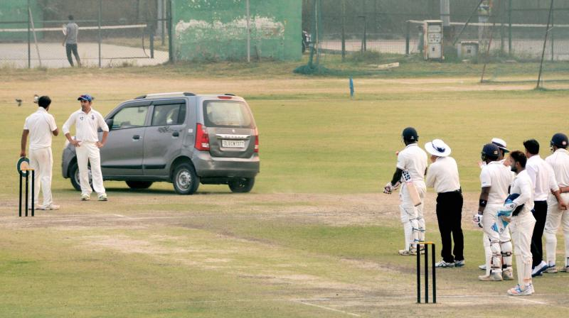 CoA DISBANDS BCCI PANEL TO INVESTIGATE 'CAR INVASION' OF PITCH DURING RANJI MATCH IN PALAM