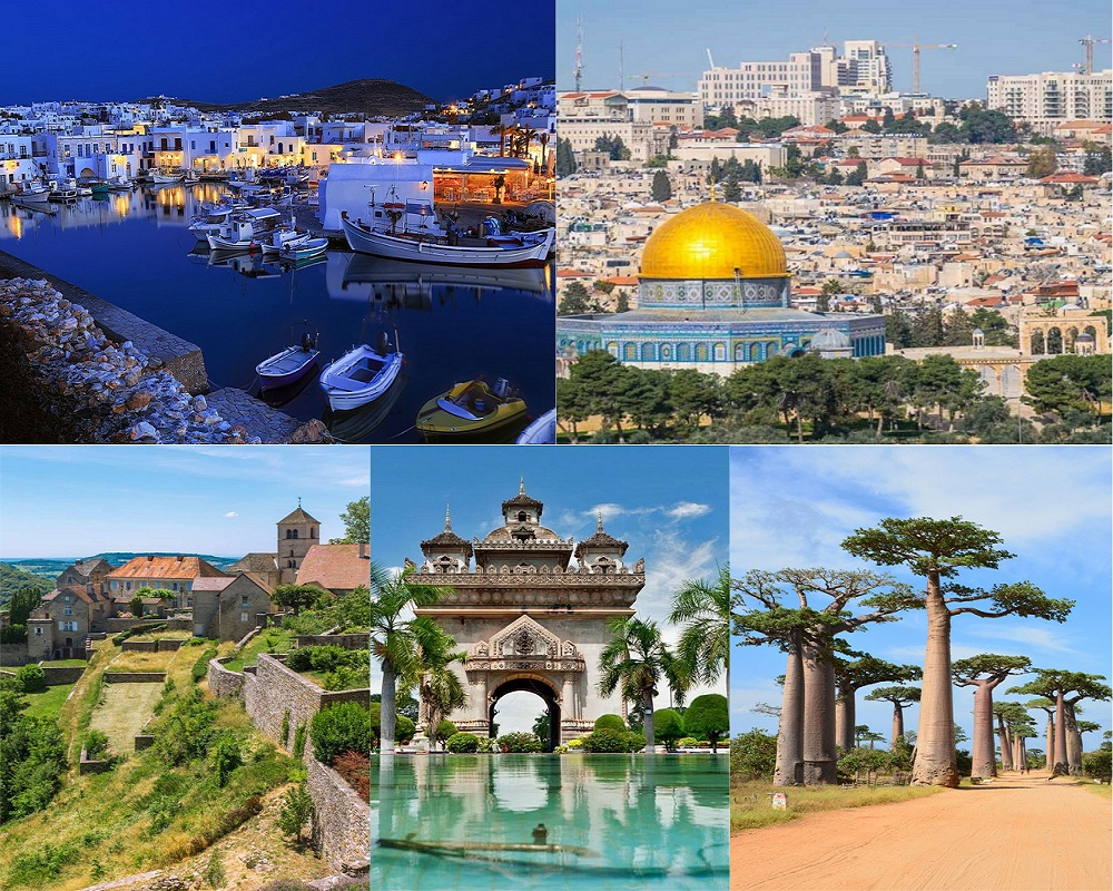 TOP 5 INSTAGRAM WORTHY HOLIDAY DESTINATIONS IN THE WORLD