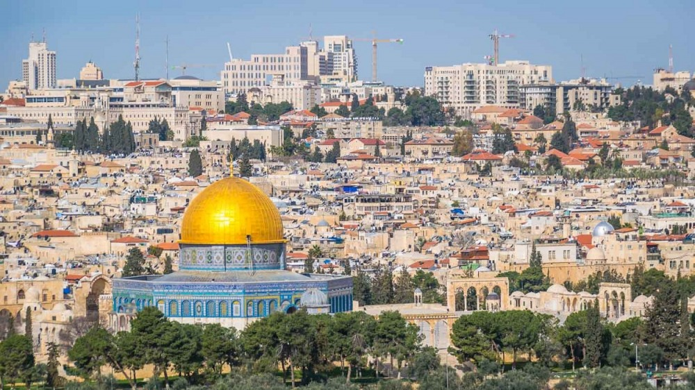 Jerusalem in Israel is one of the most Instagrammed place