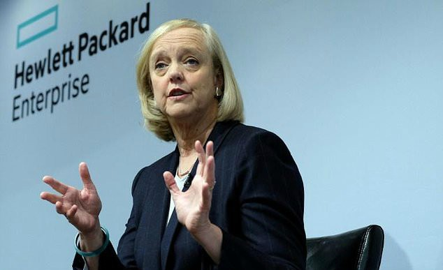 MEG WHITMAN FINALLY STEPS DOWN AS CEO OF HEWLETT PACKARD ENTERPRISE