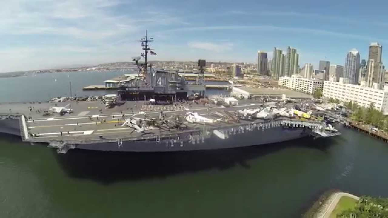 Take a tour of the USS Midway Aircraft Carrier