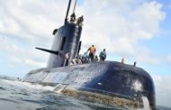 MISSING SUB IN ARGENTINA COULD RUN OUT OF OXYGEN SOON
