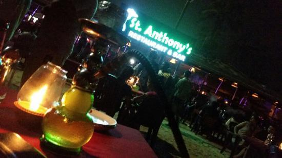 St. Anthony's Restaurant & Bar Shack, Baga