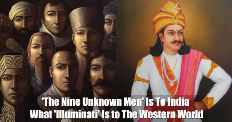 ILLUMINATI OF INDIA: THE NINE UNKNOWN MEN