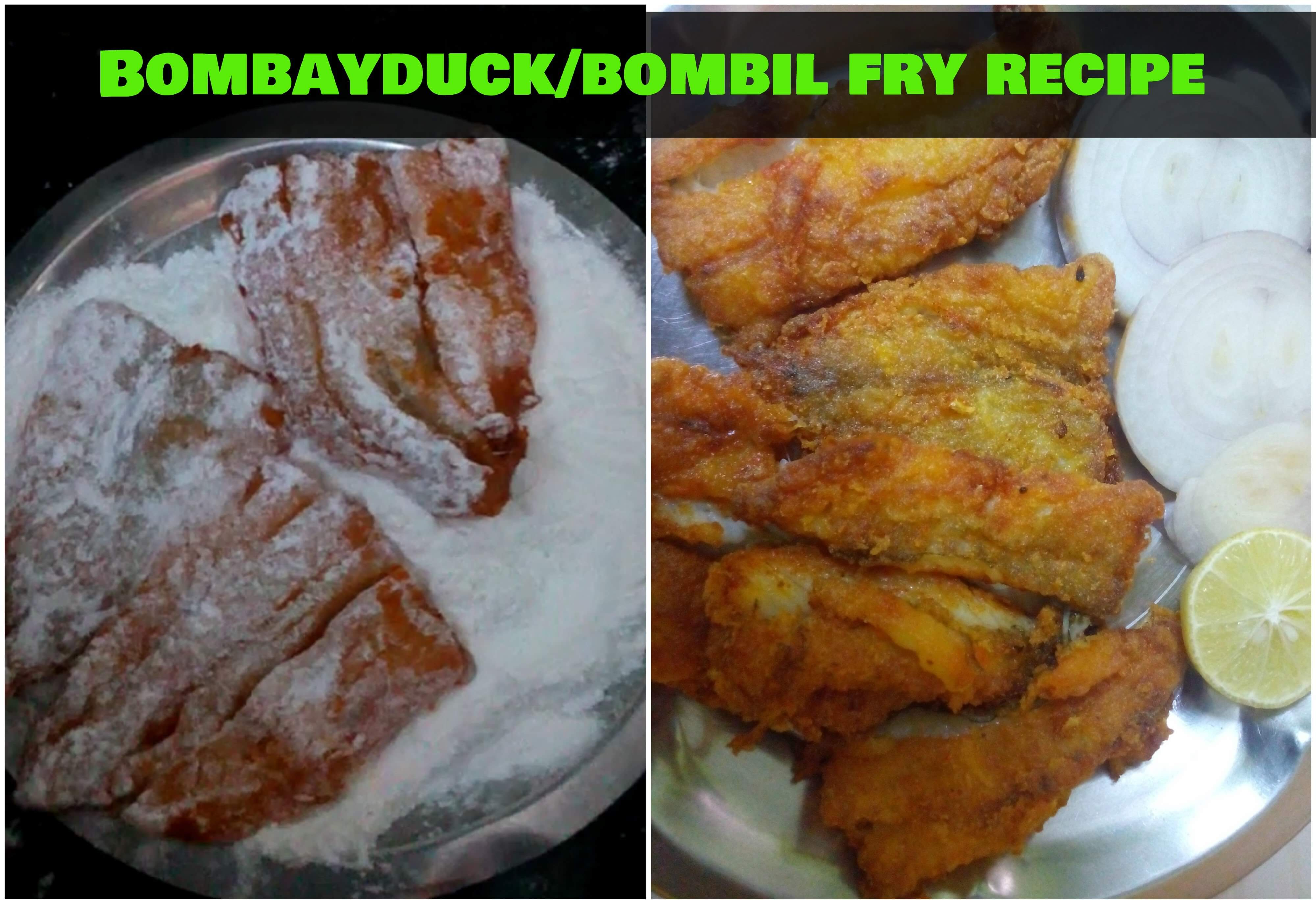 Bombay duck fish fry