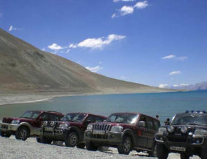 Jeep Safari in Ladakh