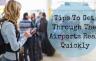 How to get through the airports quickly?
