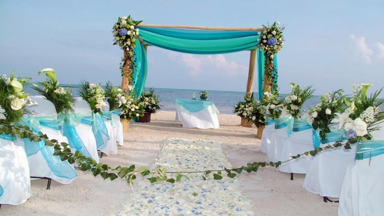 Kovalam Beach wedding