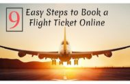 Know 9 Easy Steps To Book A Flight Ticket Online