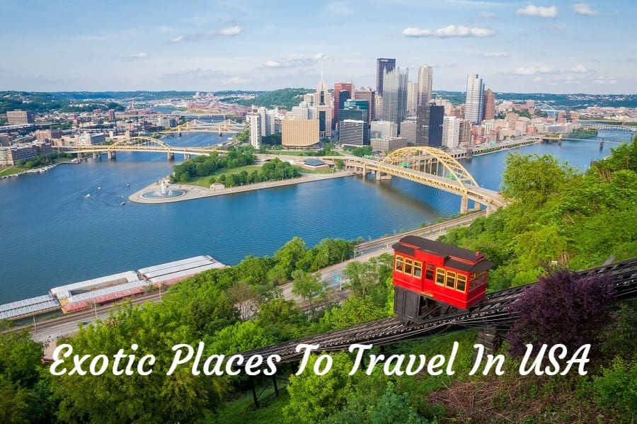 exotic places to travel in USA
