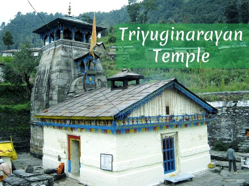 Wedding Destination in the Himalayas – Triyuginarayan Temple