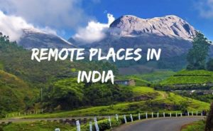 Remote places in India