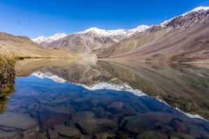 Chandratal Lake in Spiti Valley