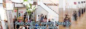 Best pop-up events ideas
