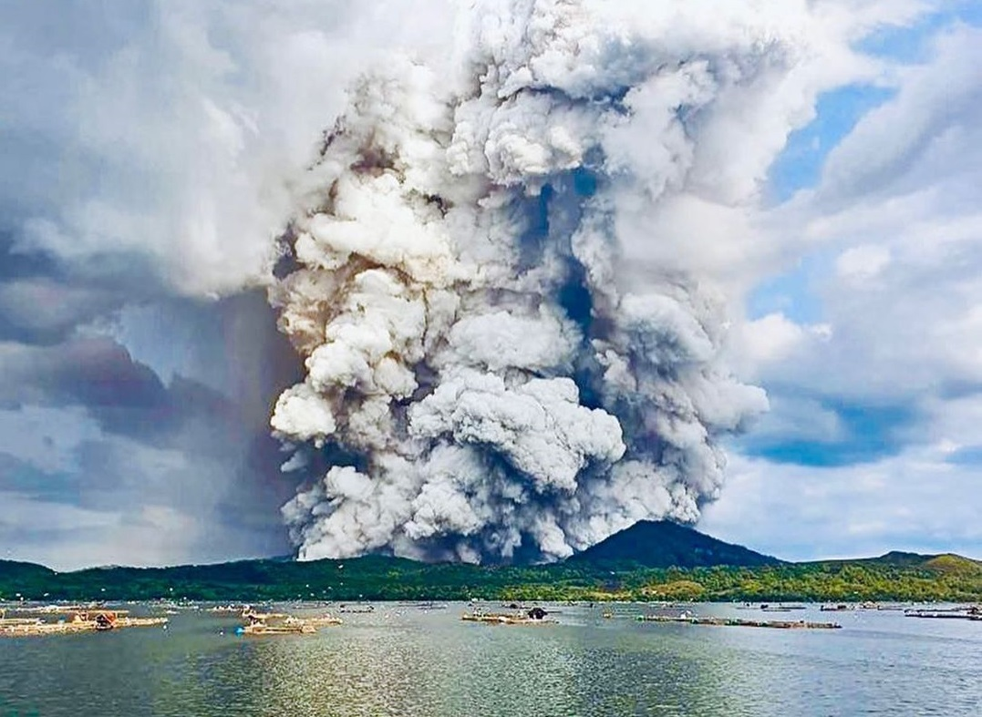 Taal Volcano Eruption Update 2020: The Island Remains Closed For Tourism