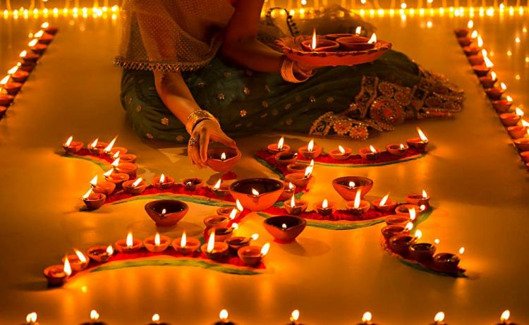places to celebrate Diwali in India.
