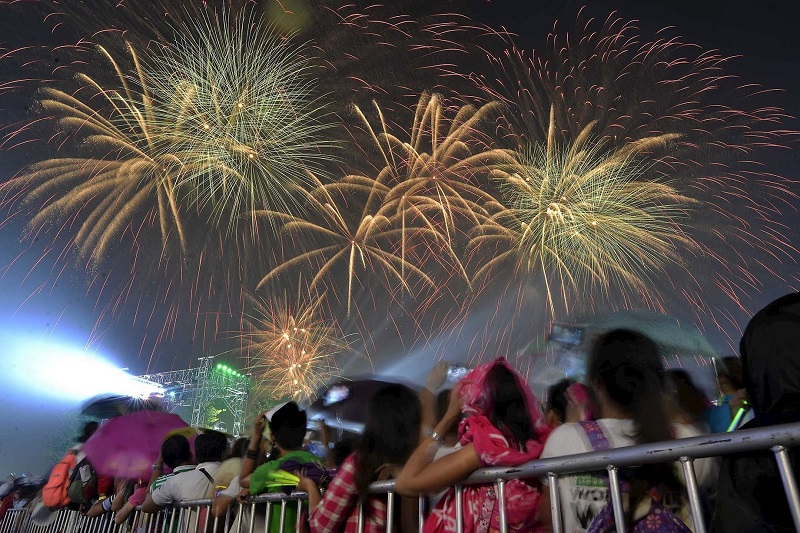 New year Celebrations in the Philippines
