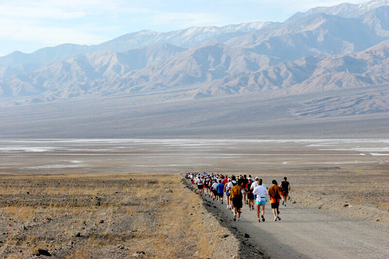 Run these Venturous National Park Marathon and Races in 2019