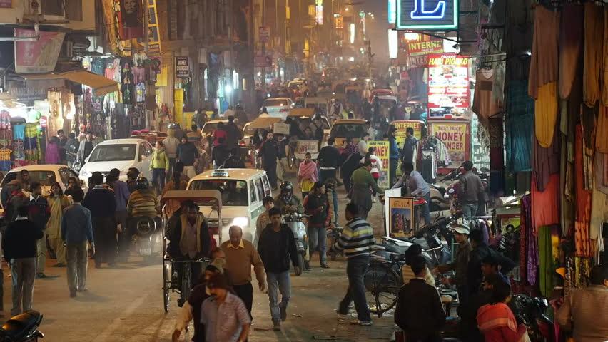 Paharganj wholesale market