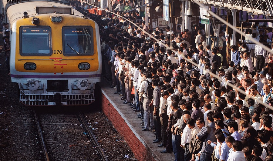 most crowded places in India