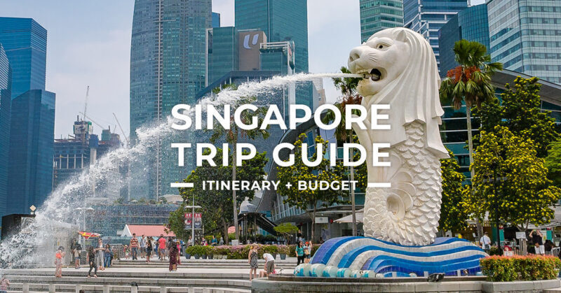 A comprehensive travel guide to Singapore City for first-time travelers